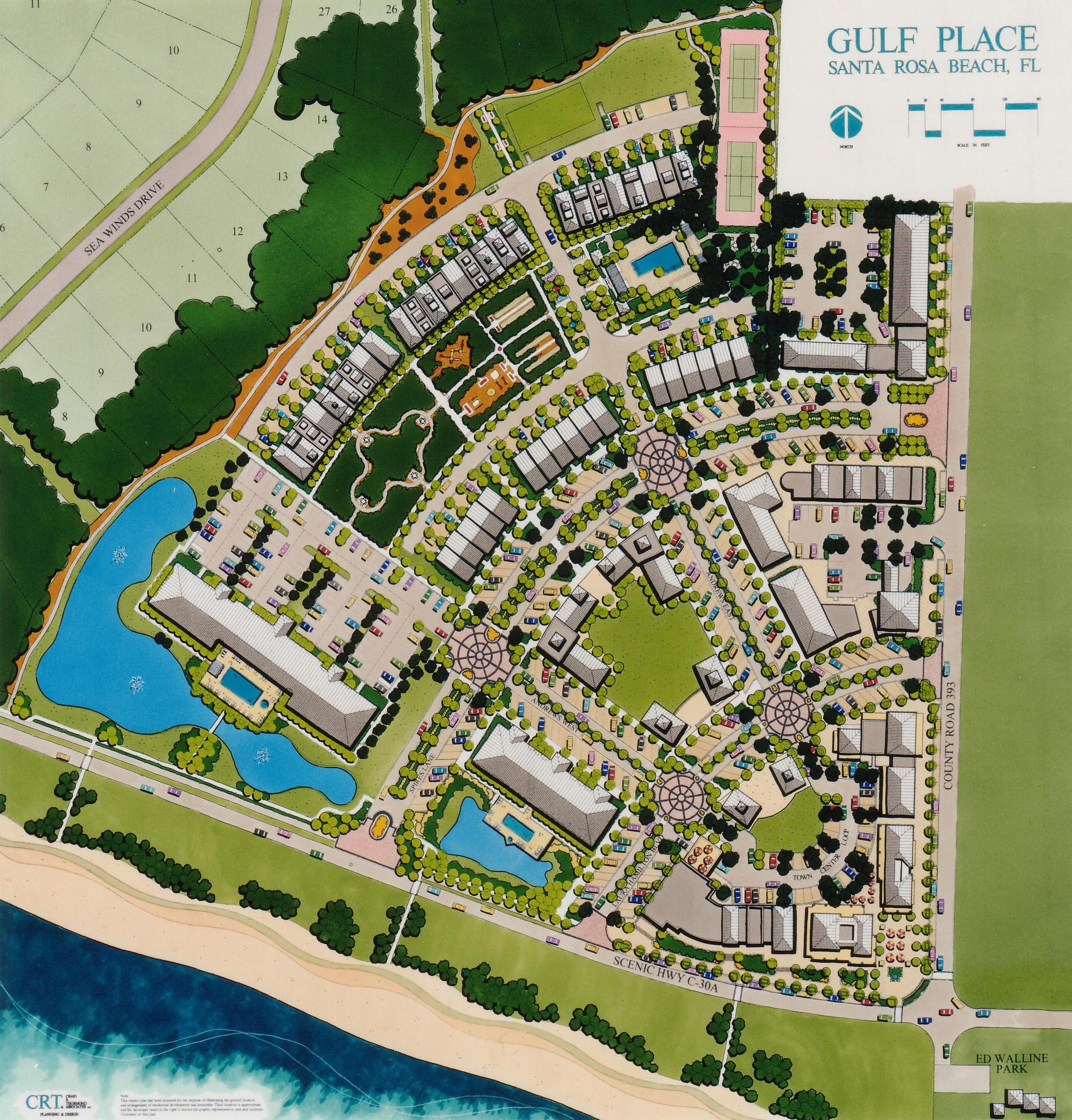 gulf place florida map