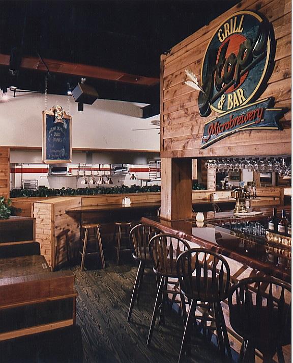 Hops grill bar chancey design partnership